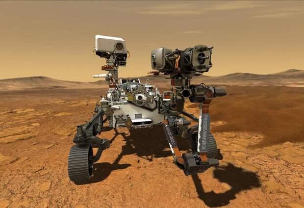 Марсоход Perseverance сумел получить кислород из атмосферы Марса