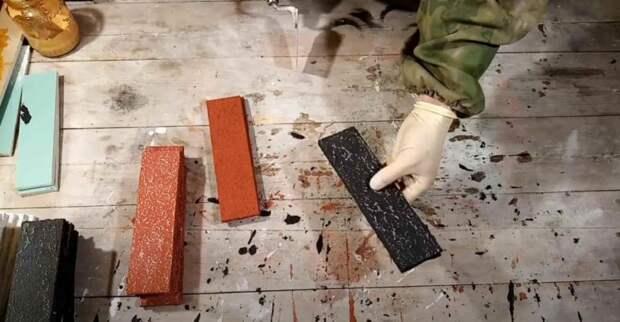 Как красиво оформить декоративные кирпичики из гипсокартона