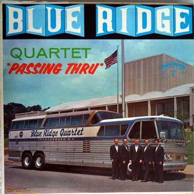 Blueridge quartet bus