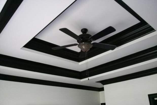 8 причин, почему черный потолок в комнате - отличная идея
