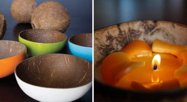 поделки из кокоса для детей