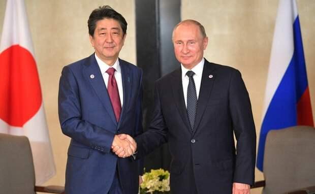 Правительство Японии объявило даты визита Синдзо Абэ в Россию