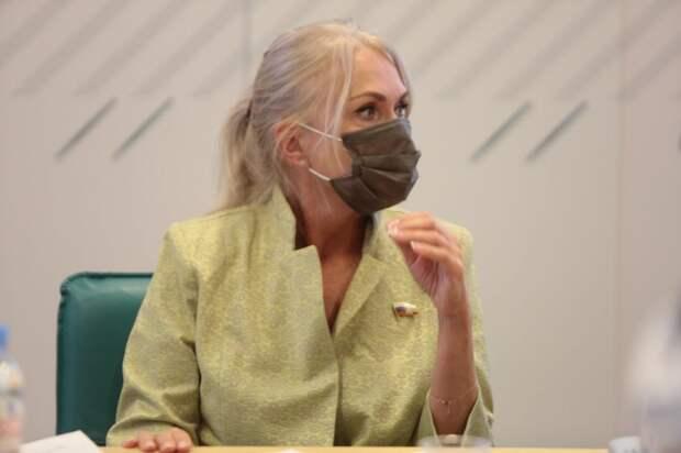 Депутат ГД Ирина Белых: «Обеспечение детской безопасности требует системного подхода». Фото: Андрей Дмытрив
