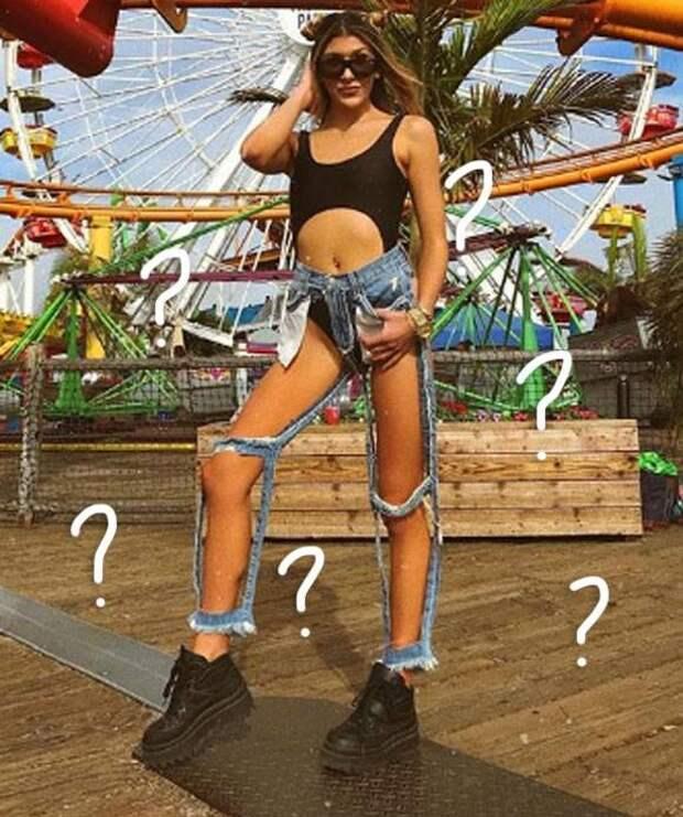 """В Штатах придумали """"голые"""" джинсы (фото)"""
