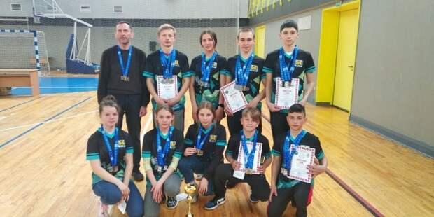 Телушские школьники в команде Могилевской области заняли 1-е место в республике.
