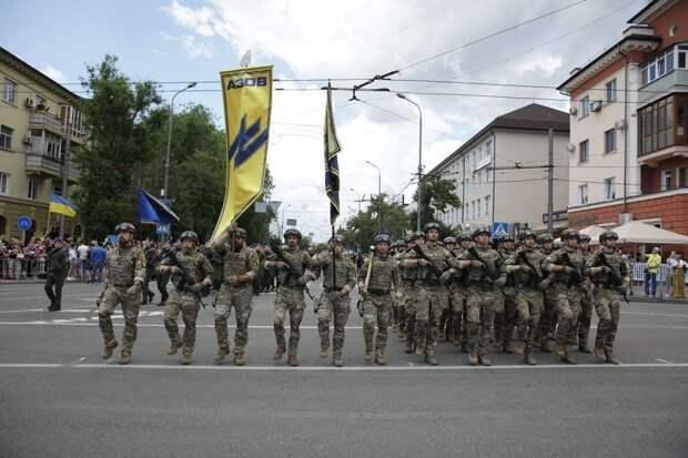 Украина отмечает годовщину оккупации Мариуполя: Нацисты обещают парады в Симферополе, Донецке и Москве