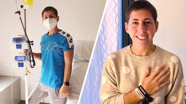 Бывшая 6-я ракетка мира Суарес-Наварро вылечилась от рака