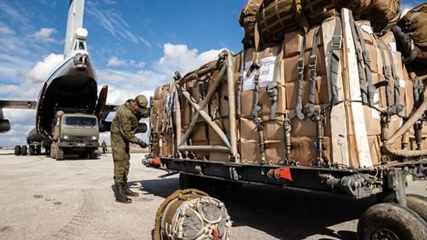 «ЗО»: сразу 7 транспортных Ил-76 ночью доставили в Сирию загадочный груз