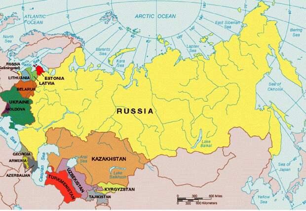 """Распад СССР, или """"сбежавшие невесты"""""""