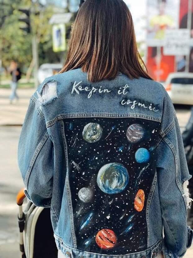 15 забавных идей украшения джинсовых курток