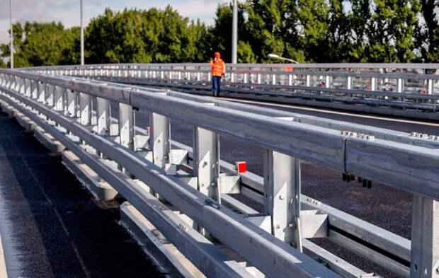 Собянин открыл новый путепровод в Переделкино. Фото:mos.ru