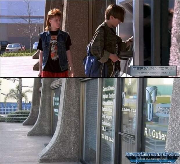 Места съёмок фильма «Терминатор 2» 25 лет спустя