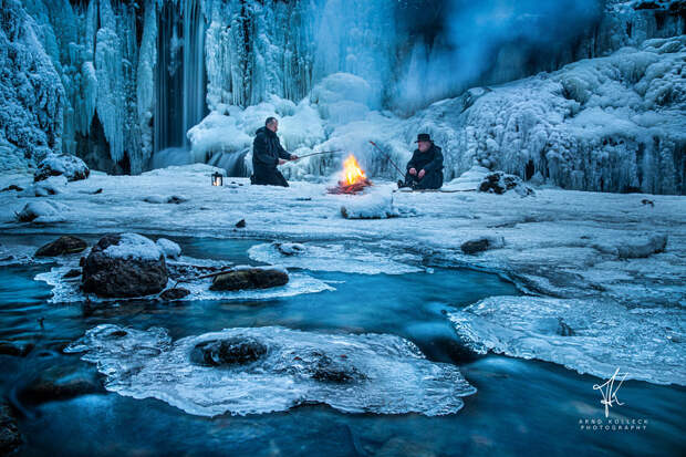 Arctic Bonfire by Arnd Kolleck on 500px.com