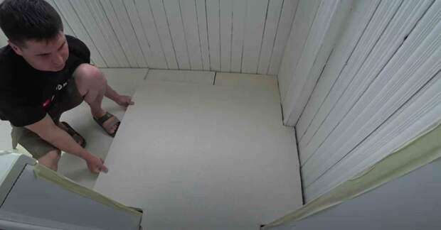 Дешево и сердито: как выровнять пол на балконе за 2-3 часа