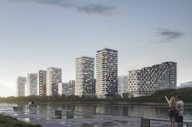 Москомархитектура согласовала проект жилого квартала в Мневниковской пойме