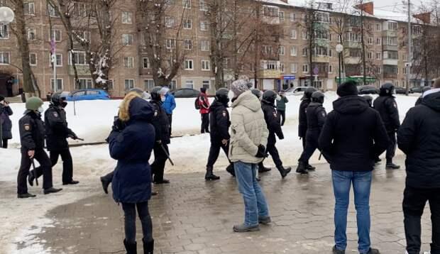Тульский митинг 23 января глазами участника