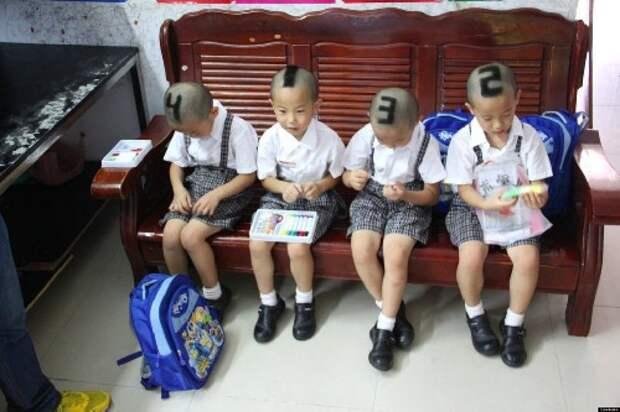 4. Действительно, чтобы не перепутать дети, крутые родители, фото, юмор