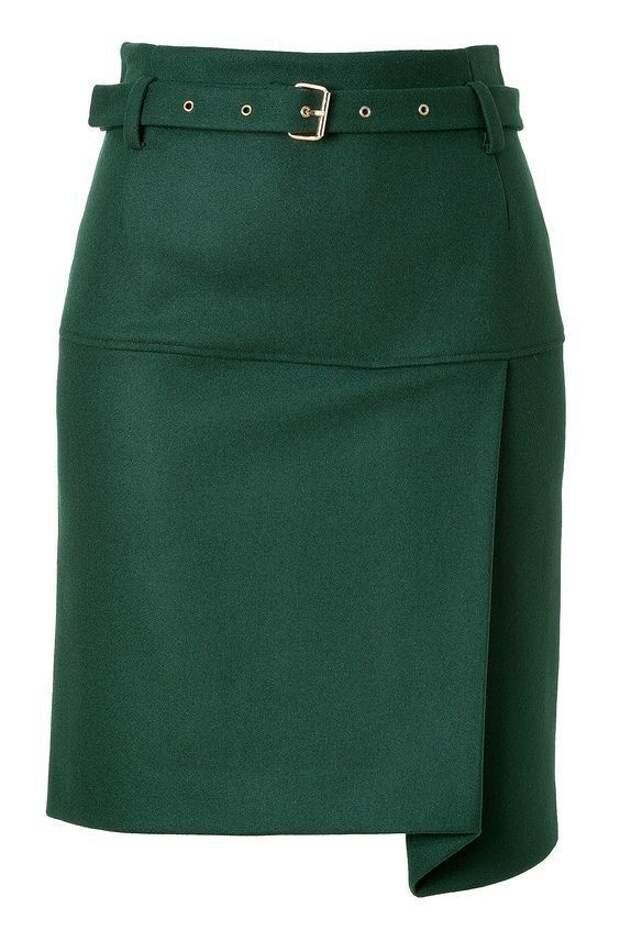Необычные зеленые юбки