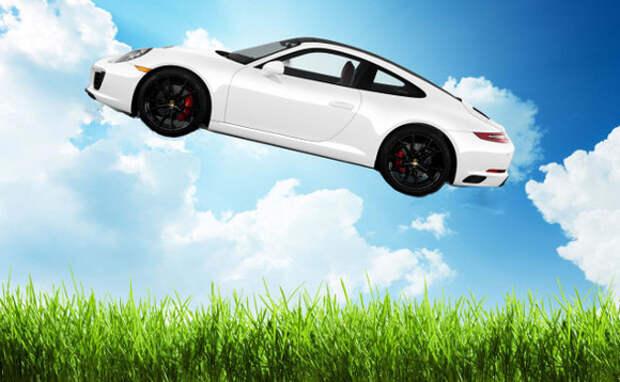 Летающий автомобиль от Porsche