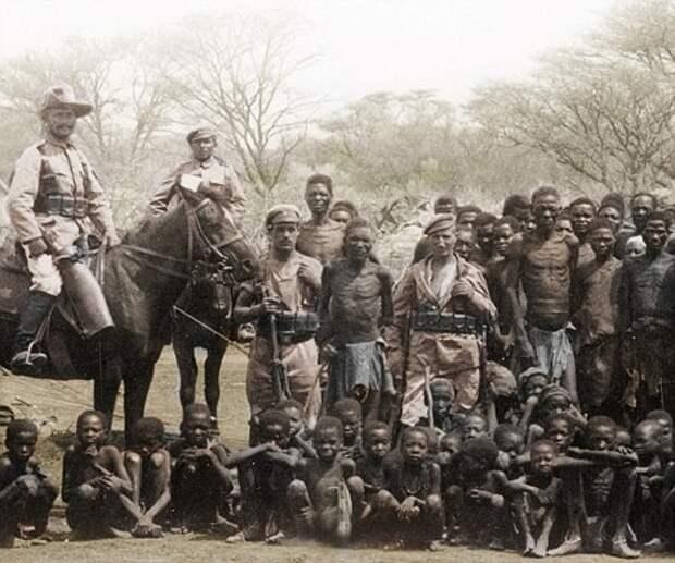 Германия извинилась за геноцид в Намибии и покаялась