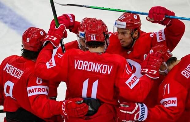 Российские хоккеисты обыграли чехов на старте чемпионата мира
