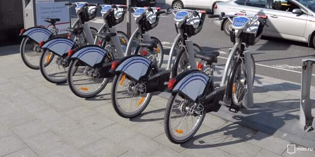 В Марфине открылись два пункта проката велосипедов