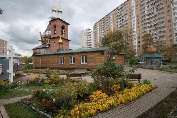 Храм Серафима Саровского на Дубнинской достроят в декабре