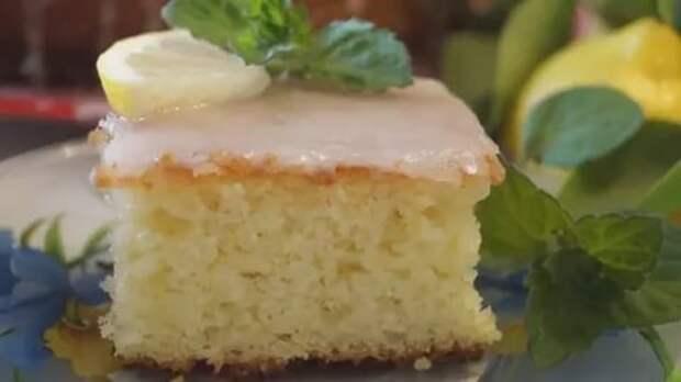 Лимонный пирог «Наивкуснейший» влюбляет в себя с первого кусочка!