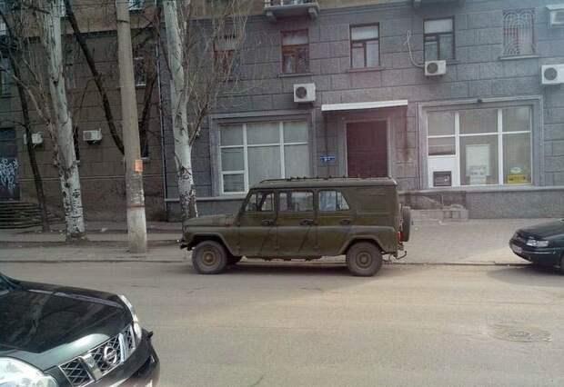 Рeдчaйший шeстидвeрный УАЗ авто, автомобили, внедорожник, лимузин, самоделка, уаз, уазик, шестидверный автомобиль