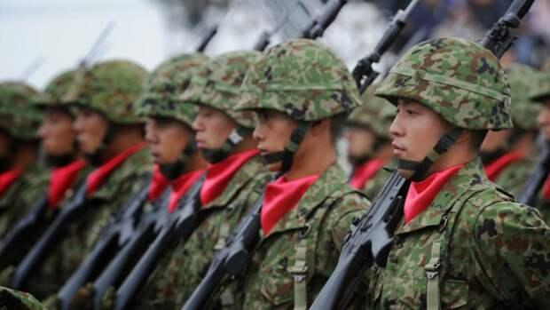 В Японии впервые начались учения против Китая