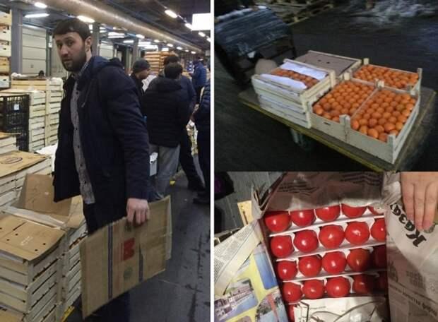 Продавец хурмы из Узбекистана подарил детскому дому в Москве фрукты, чем всколыхнул соцсети доброта, Узбеки, хороший человек, детский дом, Новый Год