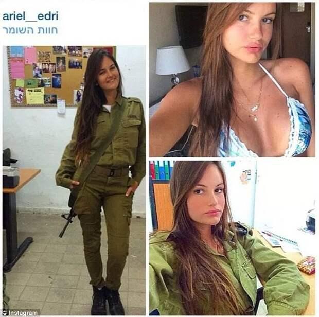 Израильская армия - армия красавиц Израиль, армия, девушки, красота