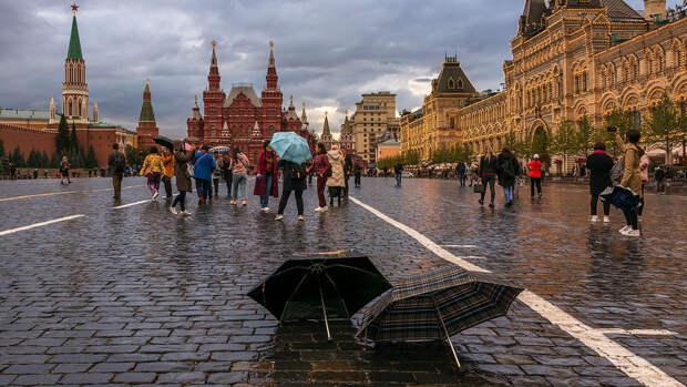 В Москве в понедельник потеплеет до +12°C