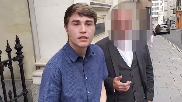 Британца осудили на 50 минут тюрьмы