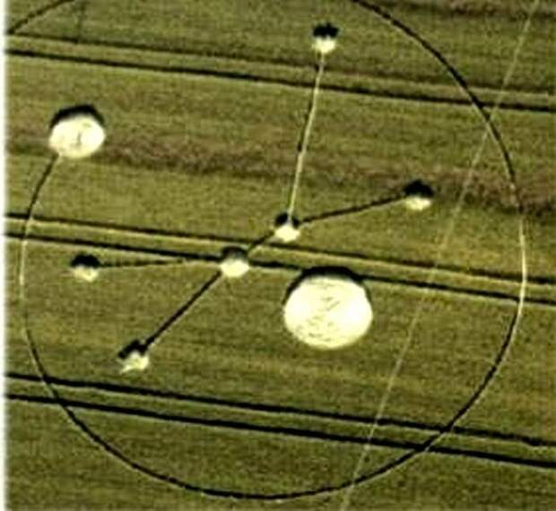 «Ведьмины круги» – знаки инопланетян