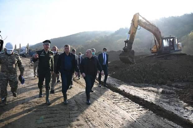 Хуснуллин в Севастополе начал проверку строительства объектов для водоснабжения города