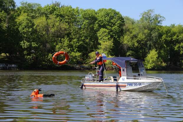 В Московской городской поисково-спасательной службе на водных объектах завершена проверка на готовность к работе в летнем периоде