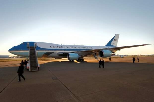 Самолет Трампа: как устроен первый борт Америки