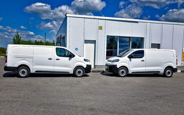 Новые Peugeot Expert и Citroen Jumpy готовятся к старту продаж