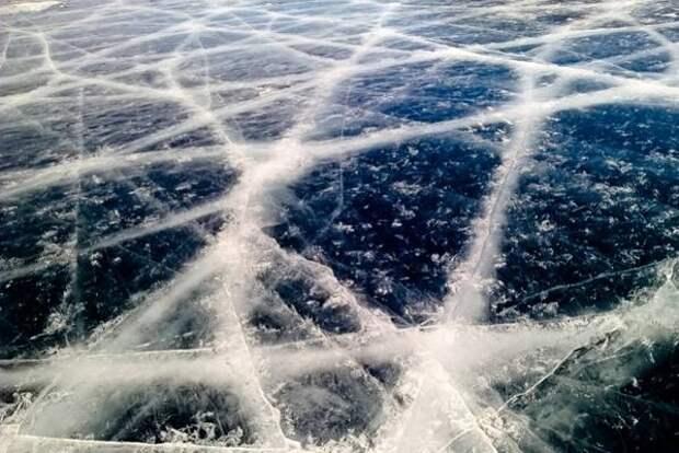 Толщина льда на основных реках Якутии меньше нормы на 10-35 сантиметров