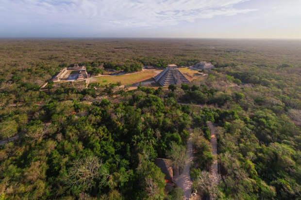 Пирамиды Майя в древнем городе Чичен-Ица | Обзор на 360º