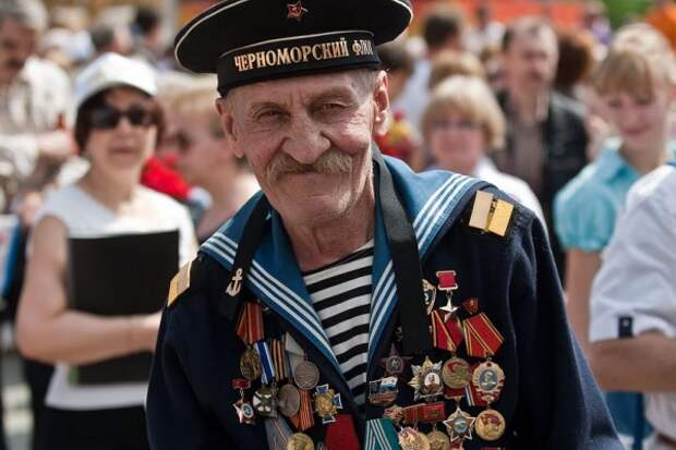 Чествование ветеранов Великой Отечественной войны