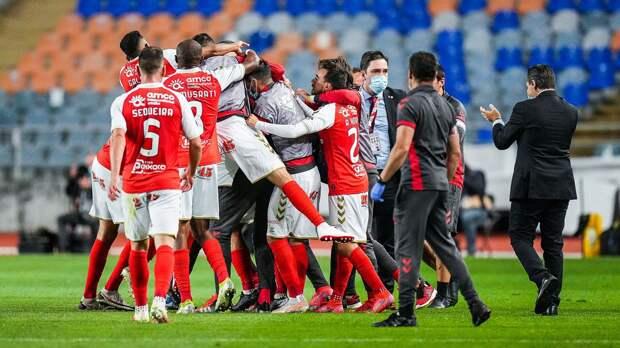 «Брага» победила «Бенфику» и выиграла Кубок Португалии