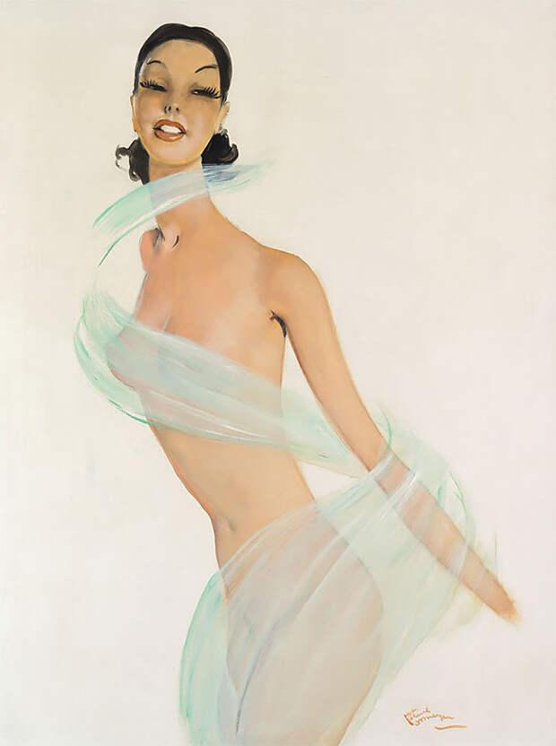 Соблазнительные парижанки накартинах французского художника Жана-Габриэля Домерга