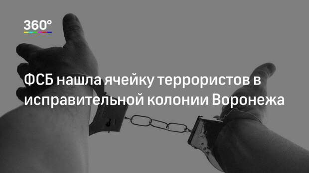 ФСБ нашла ячейку террористов в исправительной колонии Воронежа