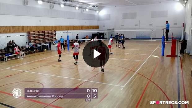 ВЭБ.РФ - Авиакомпания Россия (2:0)