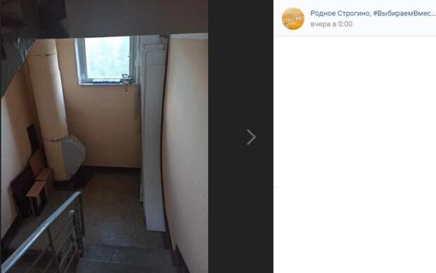 Строительный мусор в подъезде дома на Таллинской полгода мешал проходу жителей