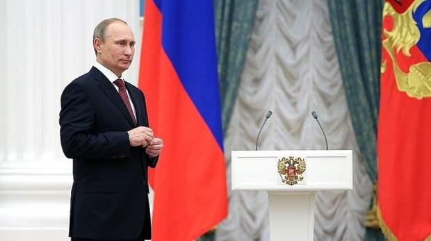 Путин наградил орденом Ковальчука за вклад в развитие Крыма