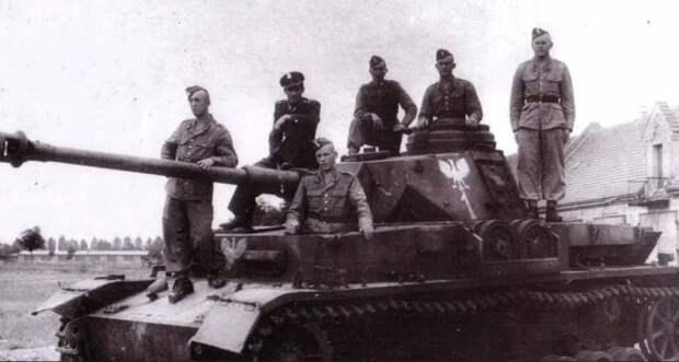 Использование германской бронетанковой техники в послевоенное время