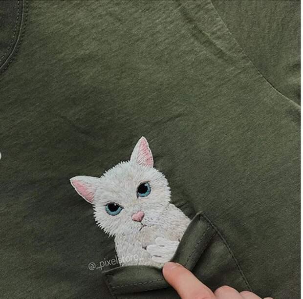 Вышивка футболок от PixelStore